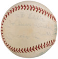 "Autographs:Baseballs, Mickey Mantle ""My Best Wishes"" Single Signed Baseball.. ..."