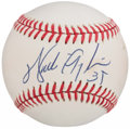 Autographs:Baseballs, Walter Payton Single Signed Baseball. . ...