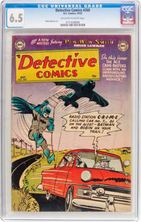 Detective Comics #200 (DC, 1953) CGC FN+ 6.5 Off-white to white pages