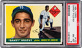 Baseball Cards:Singles (1950-1959), 1955 Topps Sandy Koufax #123 PSA NM-MT 8. ...