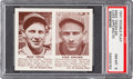 Baseball Cards:Singles (1940-1949), 1941 Double Play Tresh/Appling #69/70 PSA NM-MT 8 - Only O...