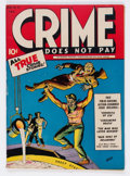Golden Age (1938-1955):Crime, Crime Does Not Pay #32 (Lev Gleason, 1944) Condition: FN+....