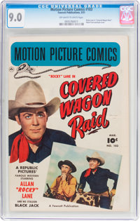Motion Picture Comics #103 (Fawcett Publications, 1951) CGC VF/NM 9.0 Off-white to white pages