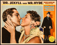 "Dr. Jekyll and Mr. Hyde (Paramount, 1931). Lobby Card (11"" X 14""). Horror"