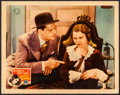 "Movie Posters:Drama, The Miracle Woman (Columbia, 1931). Lobby Card (11"" X 14""). Drama.. ..."