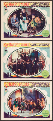 "Huntingtower (Paramount, 1928). Lobby Cards (3) (11"" X 14""). Action. ... (Total: 3 Items)"