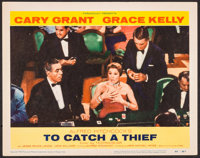 "To Catch a Thief (Paramount, 1955). Lobby Card (11"" X 14""). Hitchcock"