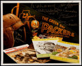Autographs:Photos, Green Bay Packers Multi-Signed Photo (9 Signatures)....