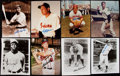 Autographs:Photos, Baseball Hall of Fame Signed Photo Lot of 14, with Bench and F.Robinson.. ...