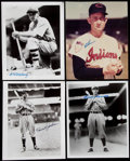 Autographs:Photos, Baseball Hall of Fame Signed Photo Lot of 4, with Terry, Jackson,Lemon, and Ferrell.. ...