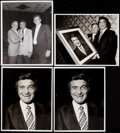 Football Collectibles:Photos, Sid Luckman Type I Photo Lot.. ...