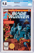 Modern Age (1980-Present):Science Fiction, Blade Runner #1 (Marvel, 1982) CGC NM/MT 9.8 White pages....