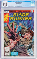 Modern Age (1980-Present):Science Fiction, Blade Runner #2 (Marvel, 1982) CGC NM/MT 9.8 White pages....