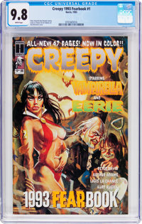 Creepy 1993 Fearbook #1 (Harris Publications, 1993) CGC NM/MT 9.8 White pages