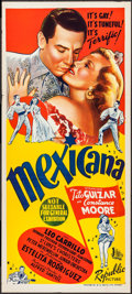 "Movie Posters:Musical, Mexicana (Republic, 1945). Australian Daybill (13.25"" X 30""). Musical.. ..."
