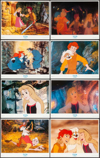 "The Black Cauldron (Walt Disney Company, 1985). International Lobby Card Set of 8 (11"" X 14""). Animation..."