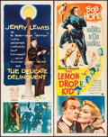 "Movie Posters:Comedy, The Lemon Drop Kid & Other Lot (Paramount, 1951). Inserts (2) (14"" X 36""). Comedy.. ... (Total: 2 Items)"