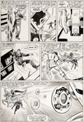 Original Comic Art:Panel Pages, Don Heck and Chic Stone Tales of Suspense #59 Story Page 9Iron Man Original Art (Marvel, 1964)....