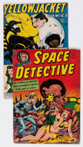 Golden Age (1938-1955):Science Fiction, Space Detective #3/Yellowjacket Comics #7 (Avon, 1946-52)Condition: Average GD/VG.... (Total: 2 Comic Books)
