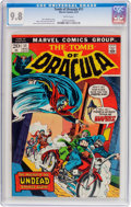 Bronze Age (1970-1979):Horror, Tomb of Dracula #11 (Marvel, 1973) CGC NM/MT 9.8 White pages....