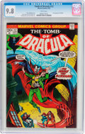 Bronze Age (1970-1979):Horror, Tomb of Dracula #12 (Marvel, 1973) CGC NM/MT 9.8 White pages....