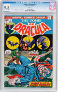 Bronze Age (1970-1979):Horror, Tomb of Dracula #15 (Marvel, 1973) CGC NM/MT 9.8 White pages....