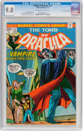Bronze Age (1970-1979):Horror, Tomb of Dracula #17 Don Rosa Collection (Marvel, 1974) CGC NM/MT9.8 Off-white to white pages....