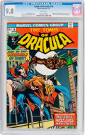Bronze Age (1970-1979):Horror, Tomb of Dracula #18 (Marvel, 1974) CGC NM/MT 9.8 White pages....