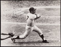 "Autographs:Photos, Mickey Mantle ""Best Wishes"" Signed Oversize Photo. . ..."