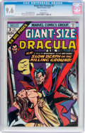 Bronze Age (1970-1979):Horror, Giant-Size Dracula #3 (Marvel, 1974) CGC NM+ 9.6 White pages....