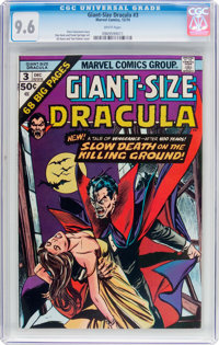 Giant-Size Dracula #3 (Marvel, 1974) CGC NM+ 9.6 White pages