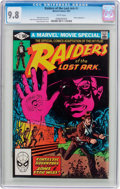 Modern Age (1980-Present):Miscellaneous, Raiders of the Lost Ark #1 (Marvel, 1981) CGC NM/MT 9.8 White pages....