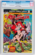 Bronze Age (1970-1979):Miscellaneous, Red Sonja #1 (Marvel, 1977) CGC NM/MT 9.8 Off-white to whitepages....
