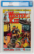 Bronze Age (1970-1979):Western, Western Kid #1 (Marvel, 1971) CGC NM+ 9.6 Off-white to white pages....