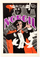 Jim Steranko Norgil the Magician Signed (by Steranko & Walter Gibson) Limited Edition Lithograph Print #129/250...