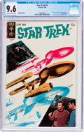 Silver Age (1956-1969):Science Fiction, Star Trek #4 (Gold Key, 1969) CGC NM+ 9.6 Off-white to whitepages....