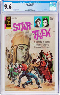 Star Trek #23 (Gold Key, 1974) CGC NM+ 9.6 White pages