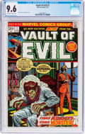 Bronze Age (1970-1979):Horror, Vault of Evil #1 (Marvel, 1973) CGC NM+ 9.6 Off-white to whitepages....