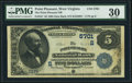 National Bank Notes:West Virginia, Point Pleasant, WV - $5 1882 Date Back Fr. 537 The Point PleasantNB Ch. # (S)5701. ...