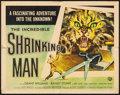 "Movie Posters:Science Fiction, The Incredible Shrinking Man (Universal International, 1957). HalfSheet (22"" X 28"") Style B, Reynold Brown Artwork.. ..."