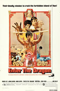 """Movie Posters:Action, Enter the Dragon (Warner Brothers, 1973). One Sheet (27"""" X 41"""") Bob Peak Artwork.. ..."""