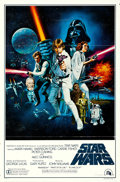 """Movie Posters:Science Fiction, Star Wars (20th Century Fox, 1977). One Sheet (27"""" X 41"""") Style C, Tom Chantrell Artwork.. ..."""