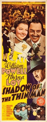 """Shadow of the Thin Man (MGM, 1941). Insert (14"""" X 36"""")"""