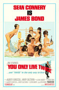 "Movie Posters:James Bond, You Only Live Twice (United Artists, 1967). One Sheet (27"" X 41"")Style C, Robert McGinnis Artwork.. ..."