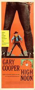 """Movie Posters:Western, High Noon (United Artists, 1952). Insert (14"""" X 36"""").. ..."""