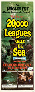 "Movie Posters:Science Fiction, 20,000 Leagues Under the Sea (Buena Vista, 1954). Insert (14"" X36"") Bruce Bushman Artwork.. ..."