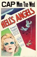 "Movie Posters:War, Hell's Angels (United Artists, 1930). Window Card (14"" X 22"") ""Hap""Hadley Artwork.. ..."