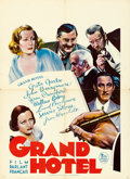 "Movie Posters:Academy Award Winners, Grand Hotel (MGM, 1932). Pre-War Belgian (24.5"" X 33.5"").. ..."