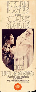 """Movie Posters:Drama, The White Sister (MGM, 1933). Insert (14"""" X 36"""").. ..."""