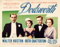 "Movie Posters:Drama, Dodsworth (United Artists, 1936). Half Sheet (22"" X 28"").. ..."